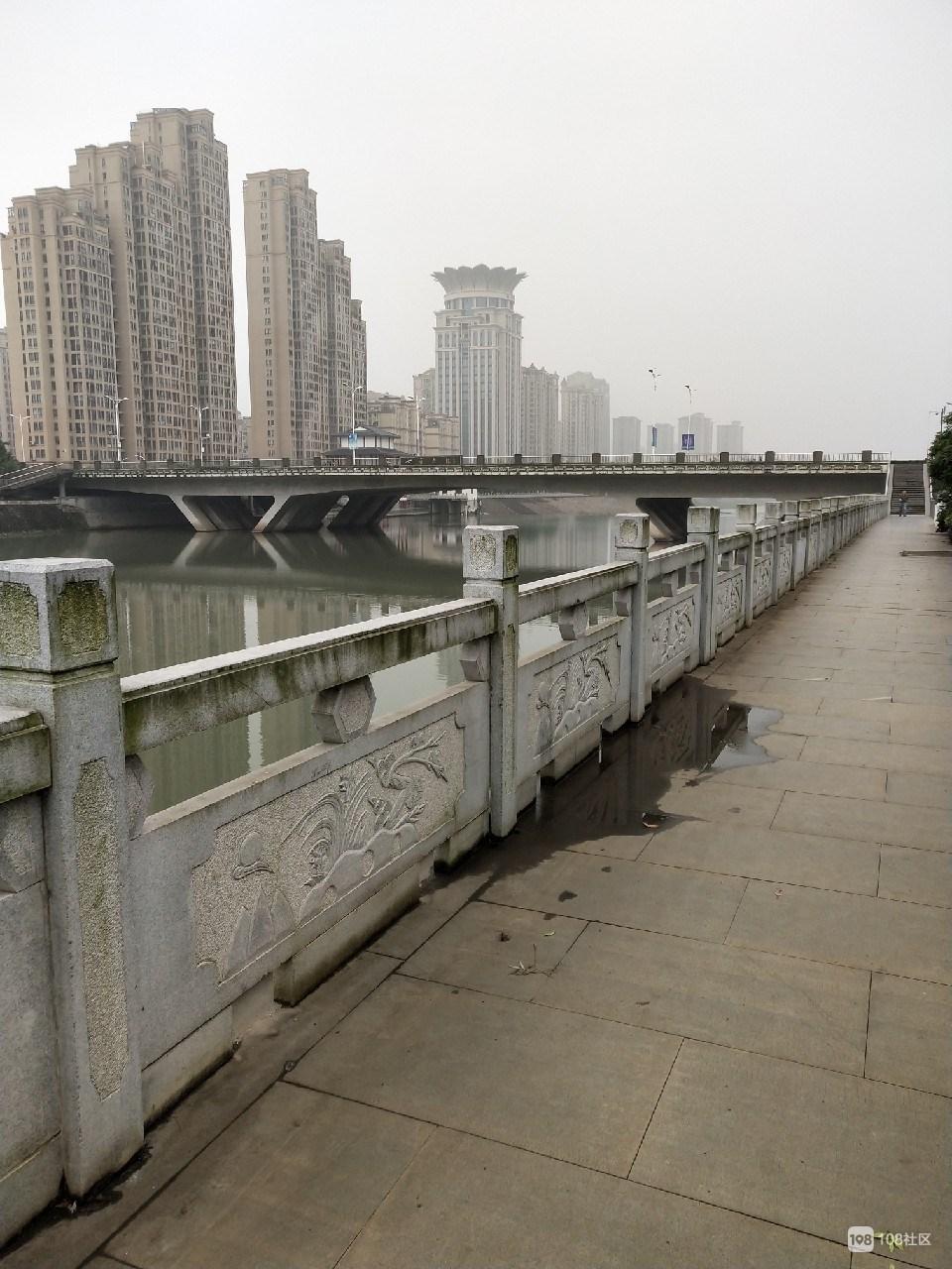 跑步第一天,从上礼泉往七星大桥,我会坚持吗?