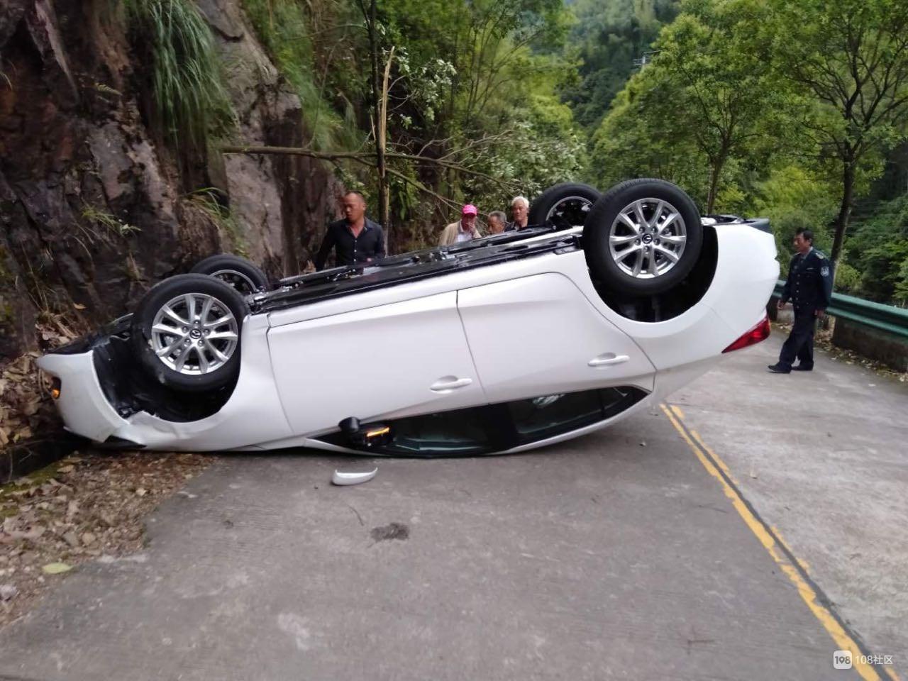 304县道发生一起交通事故