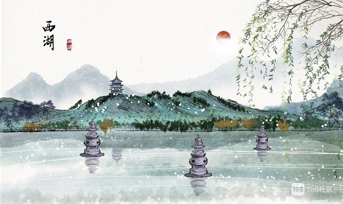 一年迎来送往,卢正浩西湖龙井让家人品到江南远方